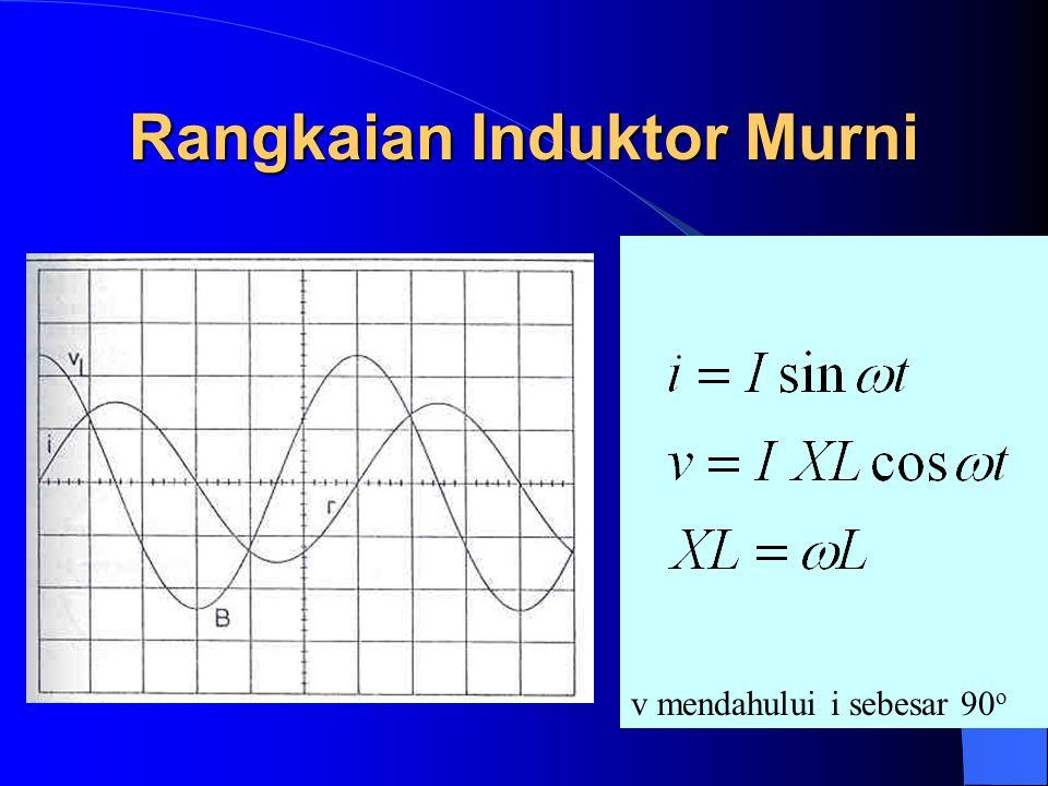 Rangkaian Induktor Murni