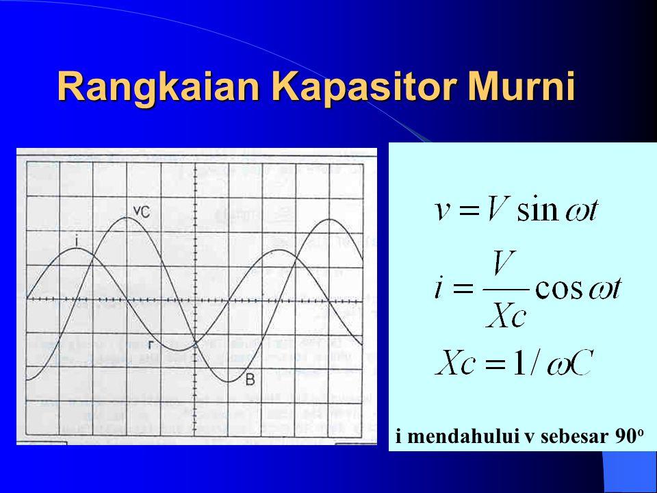 Rangkaian Kapasitor Murni