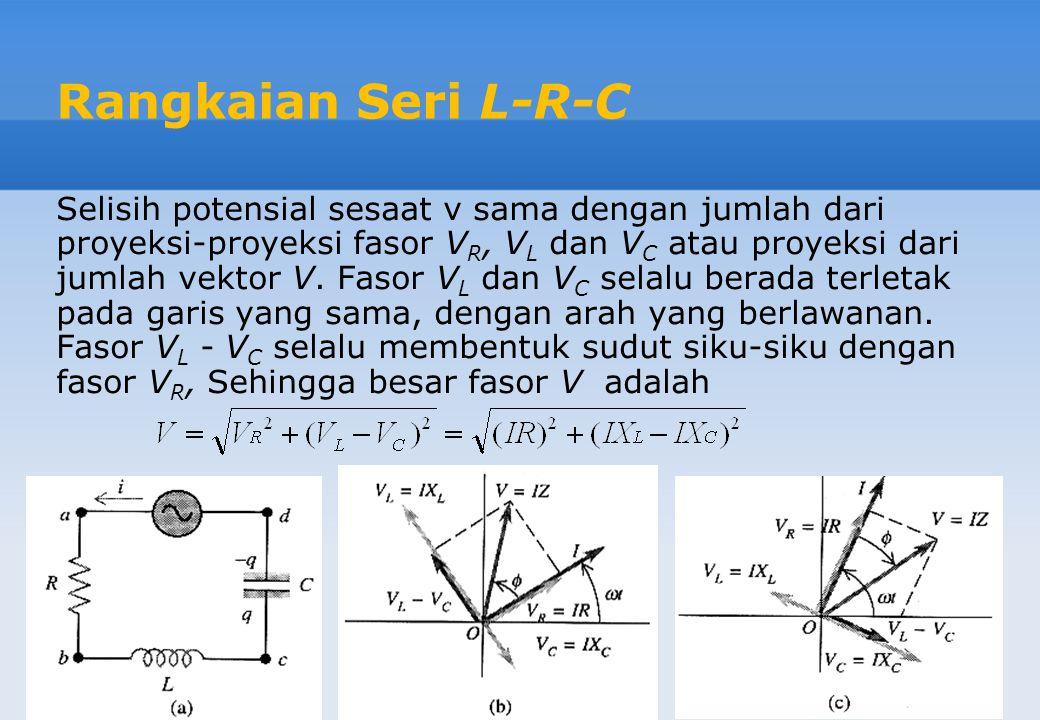 Rangkaian Seri L-R-C