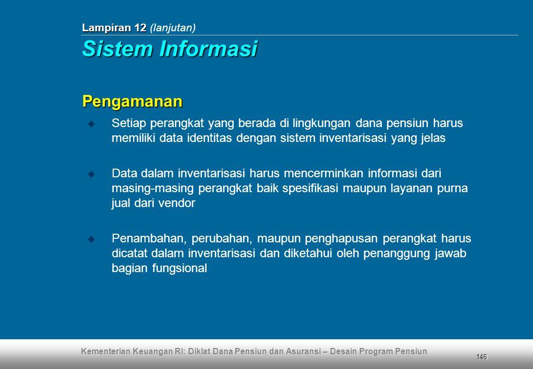 Sistem Informasi Pengamanan
