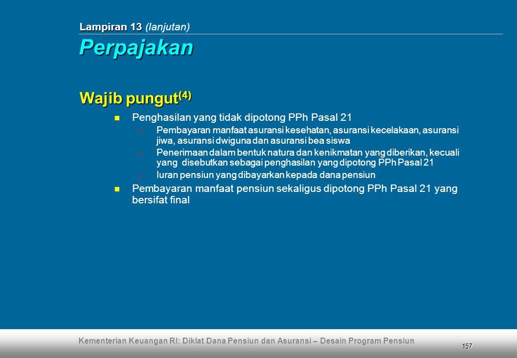 Perpajakan Wajib pungut(4) Lampiran 13 (lanjutan)
