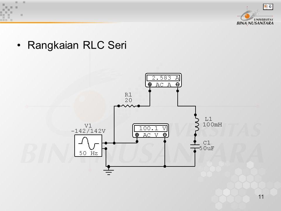 Rangkaian RLC Seri