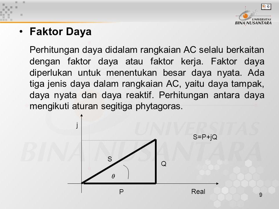 Faktor Daya