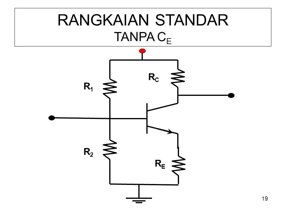 RANGKAIAN STANDAR TANPA CE