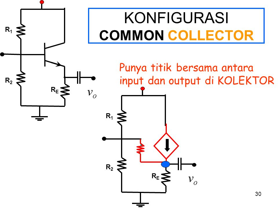 KONFIGURASI COMMON COLLECTOR