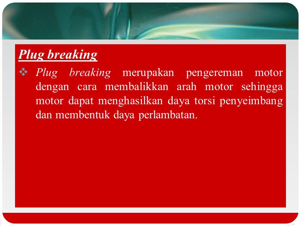 Plug breaking