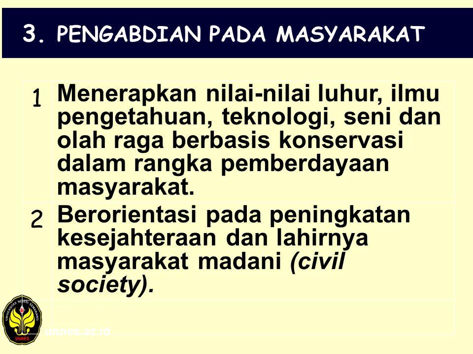 3. PENGABDIAN PADA MASYARAKAT