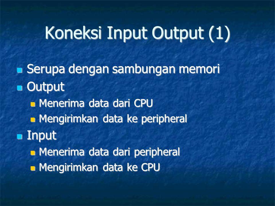 Koneksi Input Output (1)
