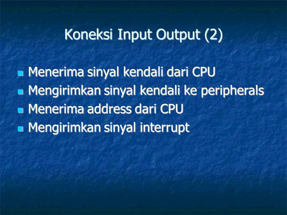 Koneksi Input Output (2)