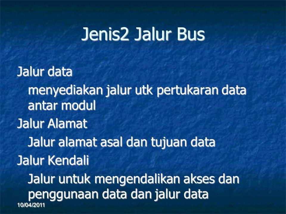 Jenis2 Jalur Bus