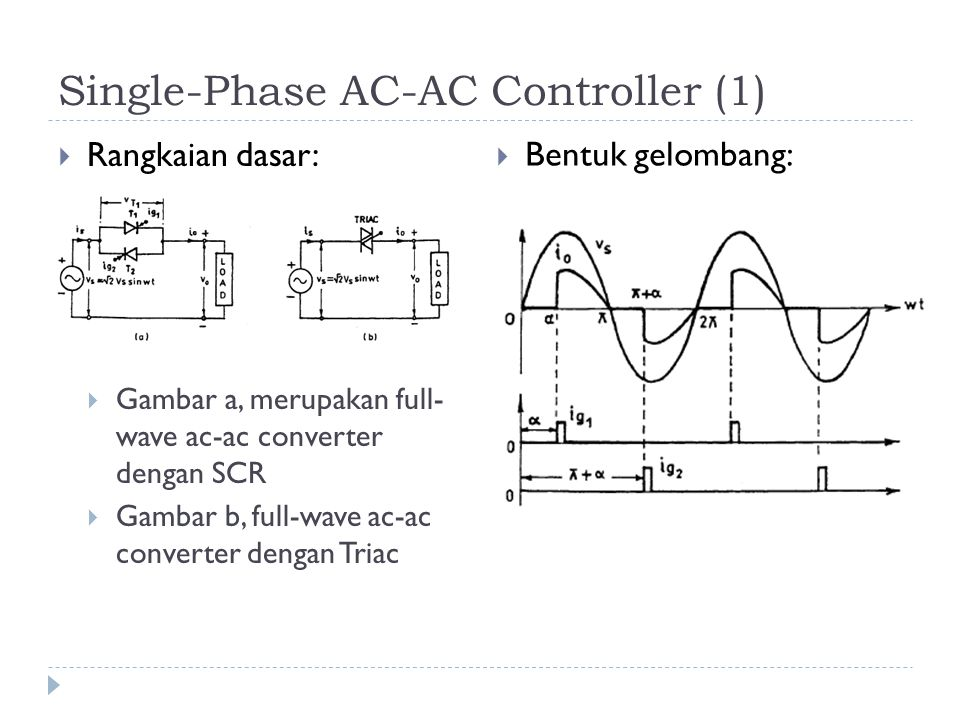 Single-Phase AC-AC Controller (1)