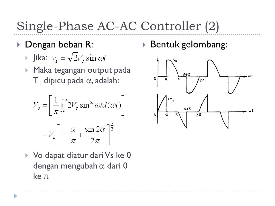 Single-Phase AC-AC Controller (2)