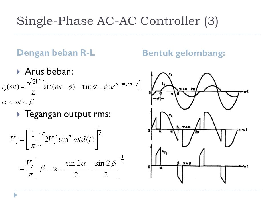 Single-Phase AC-AC Controller (3)