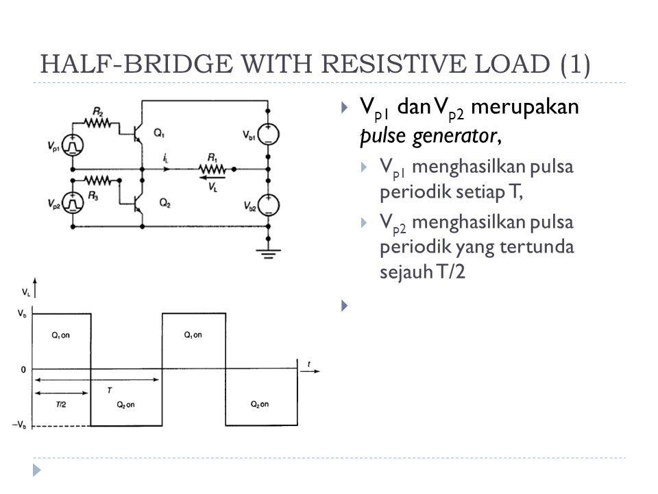 HALF-BRIDGE WITH RESISTIVE LOAD (1)