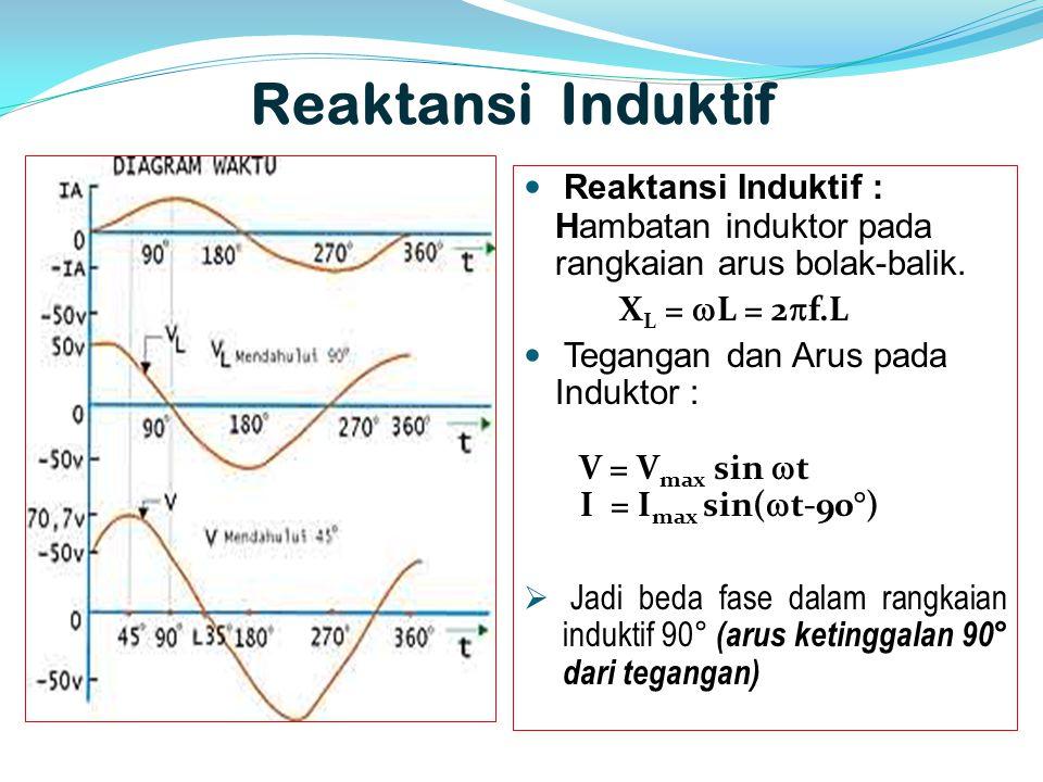 Listrik bolak balik alternating current ac ppt download reaktansi induktif reaktansi induktif hambatan induktor pada rangkaian arus bolak balik xl ccuart Gallery