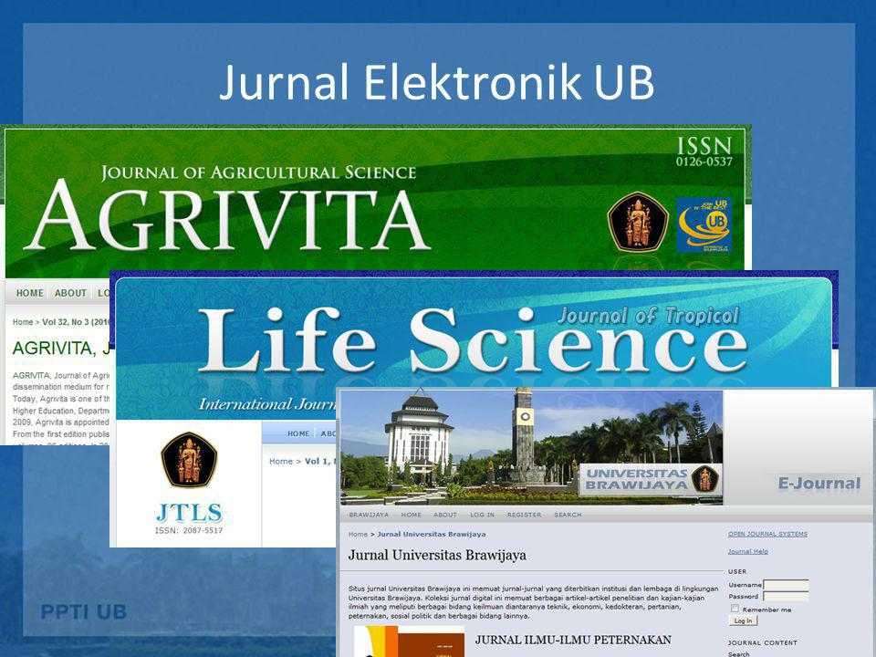 Jurnal Elektronik UB
