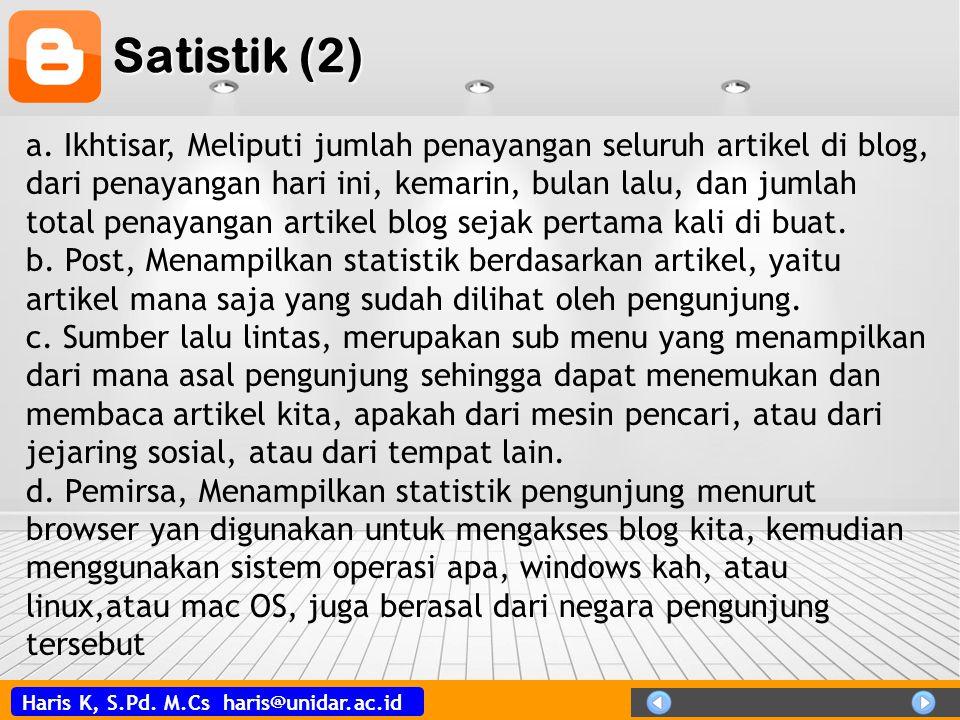 Satistik (2)