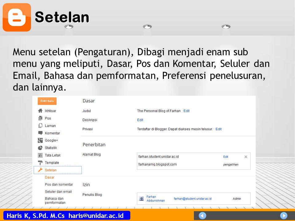 Setelan
