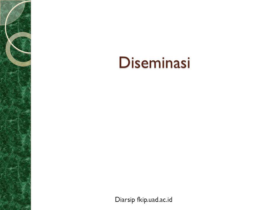 Diseminasi