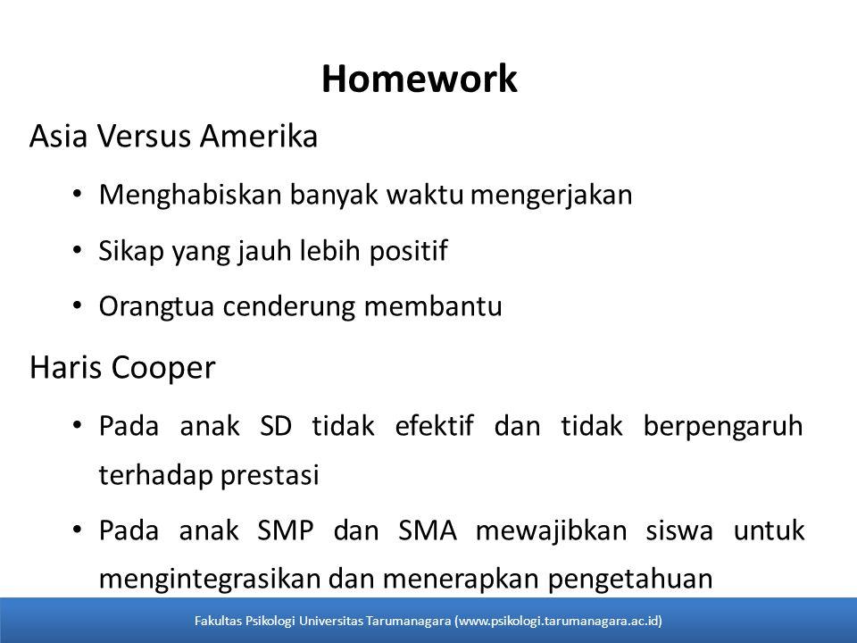Homework Asia Versus Amerika Haris Cooper