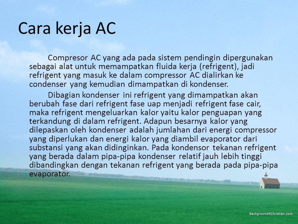 Cara kerja AC