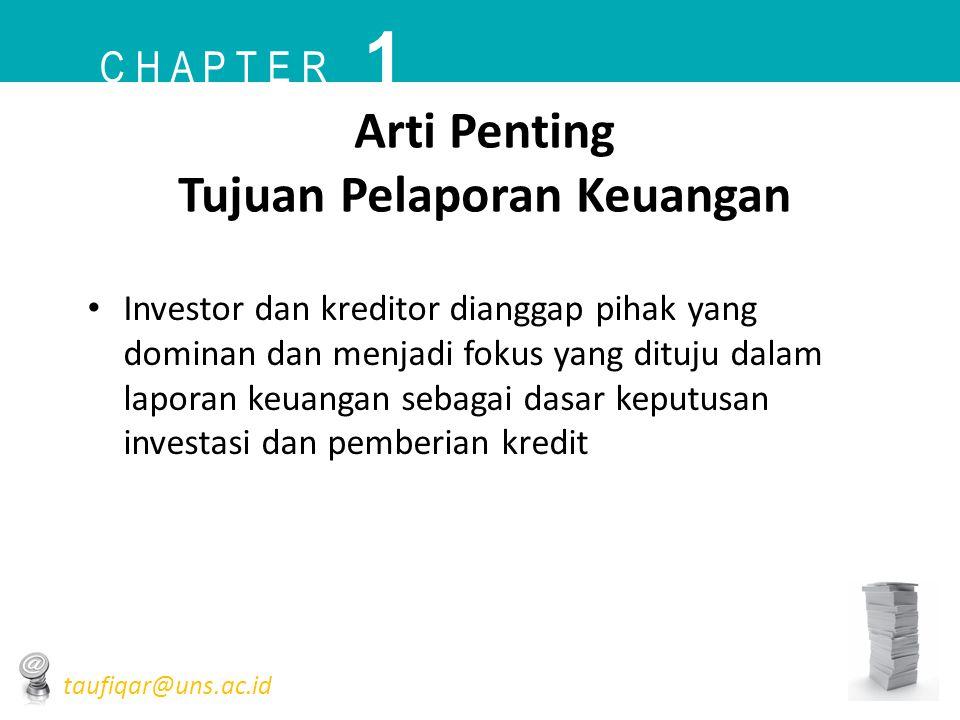 Arti Penting Tujuan Pelaporan Keuangan