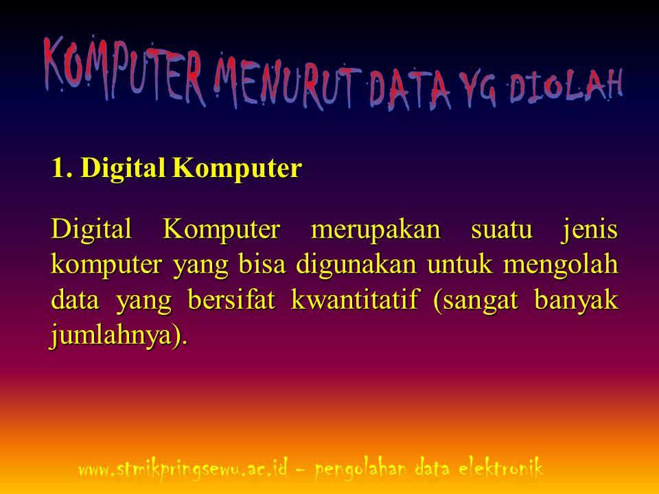 KOMPUTER MENURUT DATA YG DIOLAH