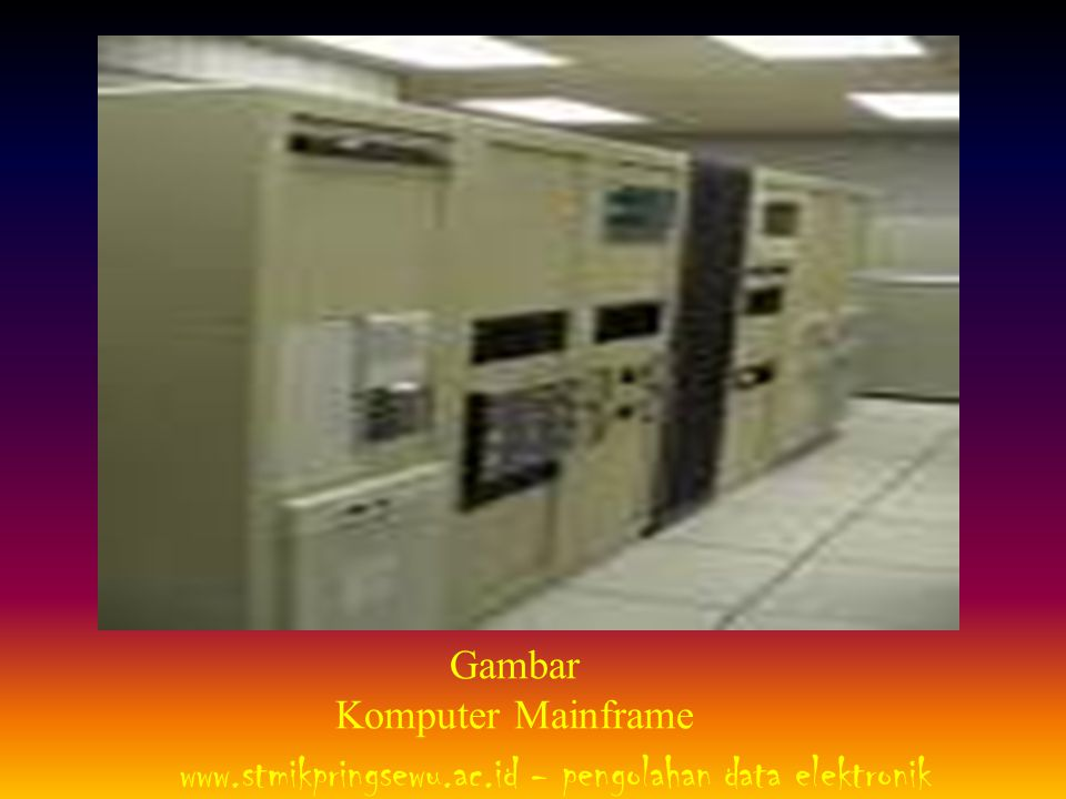 Gambar Komputer Mainframe