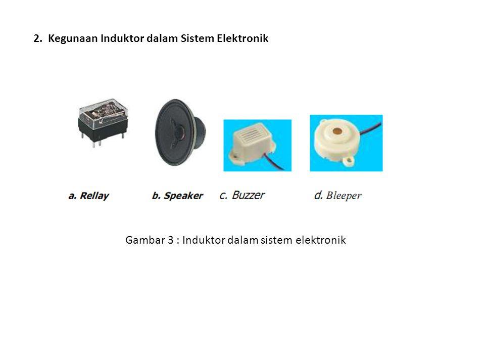 2. Kegunaan Induktor dalam Sistem Elektronik