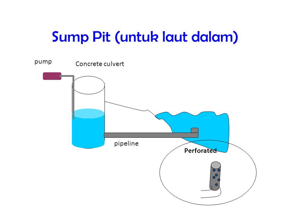 Sump Pit (untuk laut dalam)