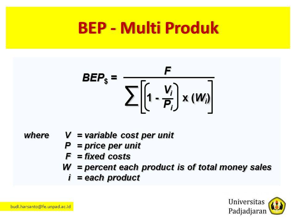 BEP - Multi Produk