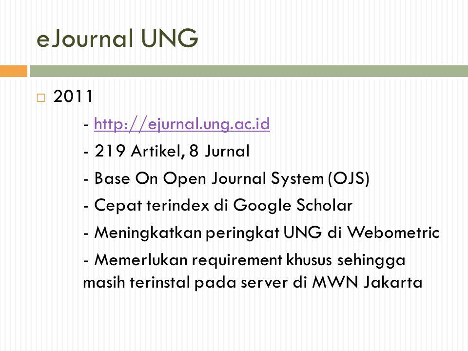 eJournal UNG 2011 - http://ejurnal.ung.ac.id - 219 Artikel, 8 Jurnal