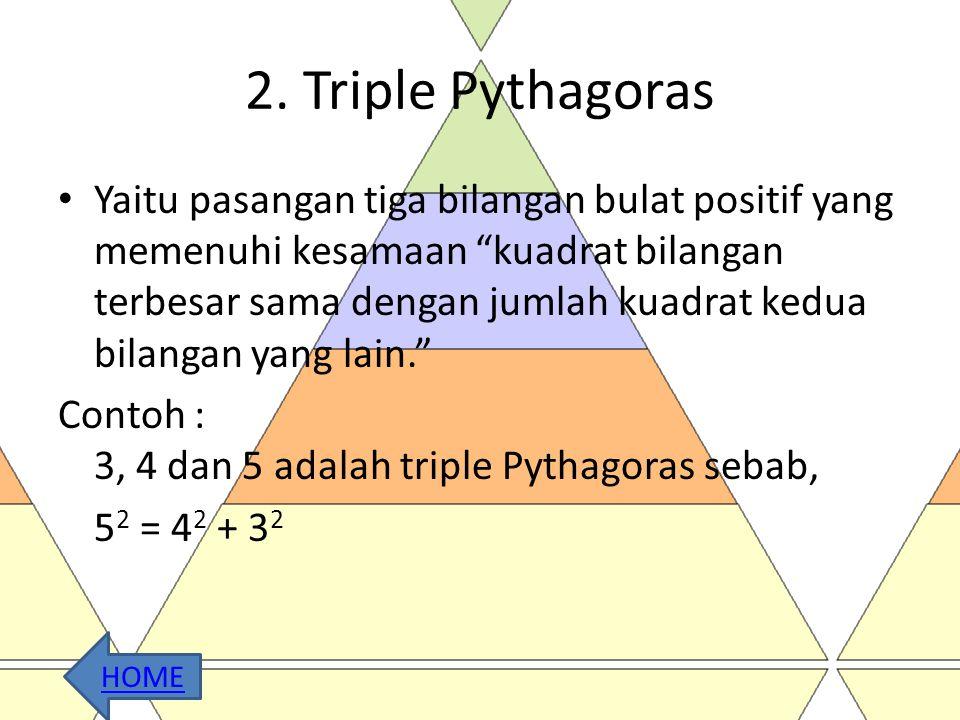 2. Triple Pythagoras
