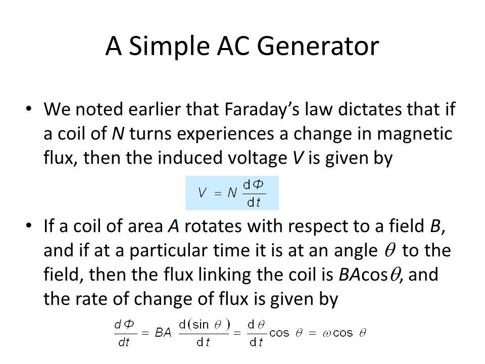 A Simple AC Generator