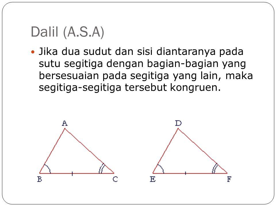 Dalil (A.S.A)