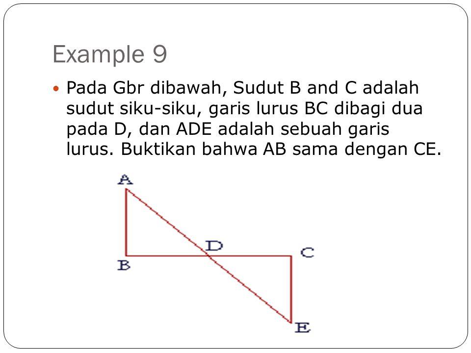 Example 9