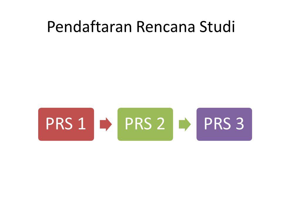 Pendaftaran Rencana Studi
