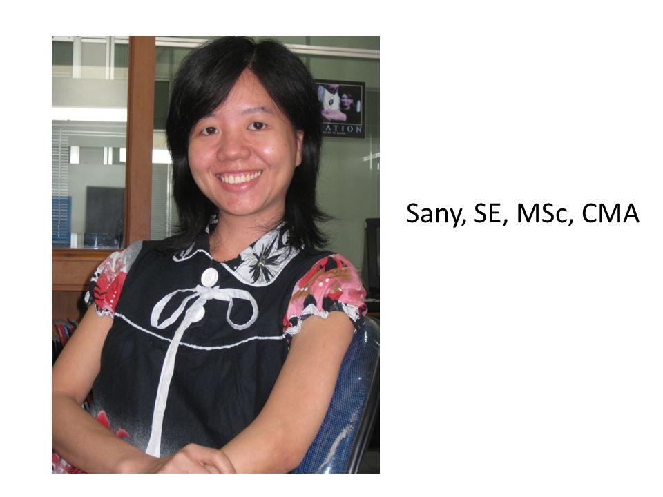 Sany, SE, MSc, CMA