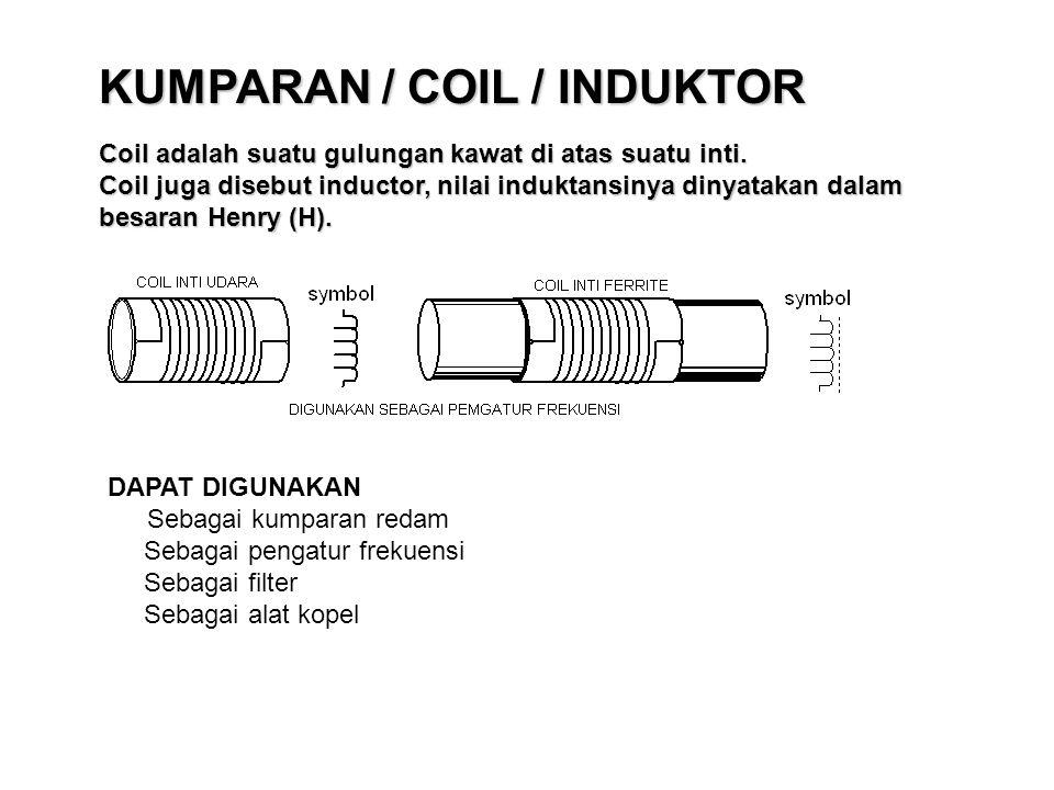 KUMPARAN / COIL / INDUKTOR