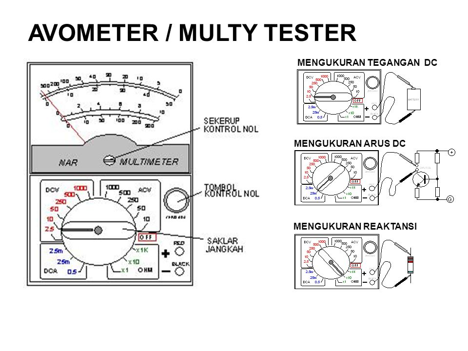 AVOMETER / MULTY TESTER