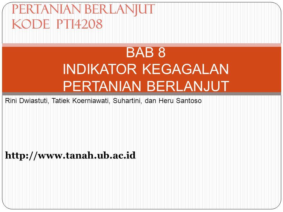 BAB 8 INDIKATOR KEGAGALAN