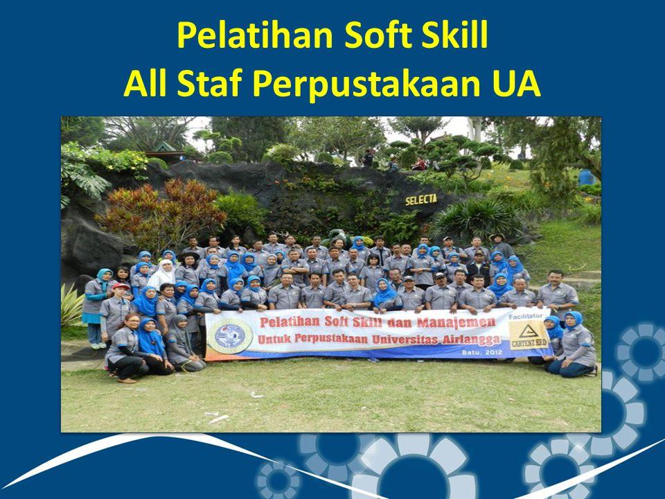 Pelatihan Soft Skill All Staf Perpustakaan UA