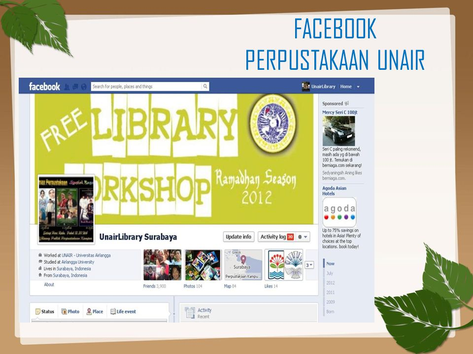 FACEBOOK PERPUSTAKAAN UNAIR