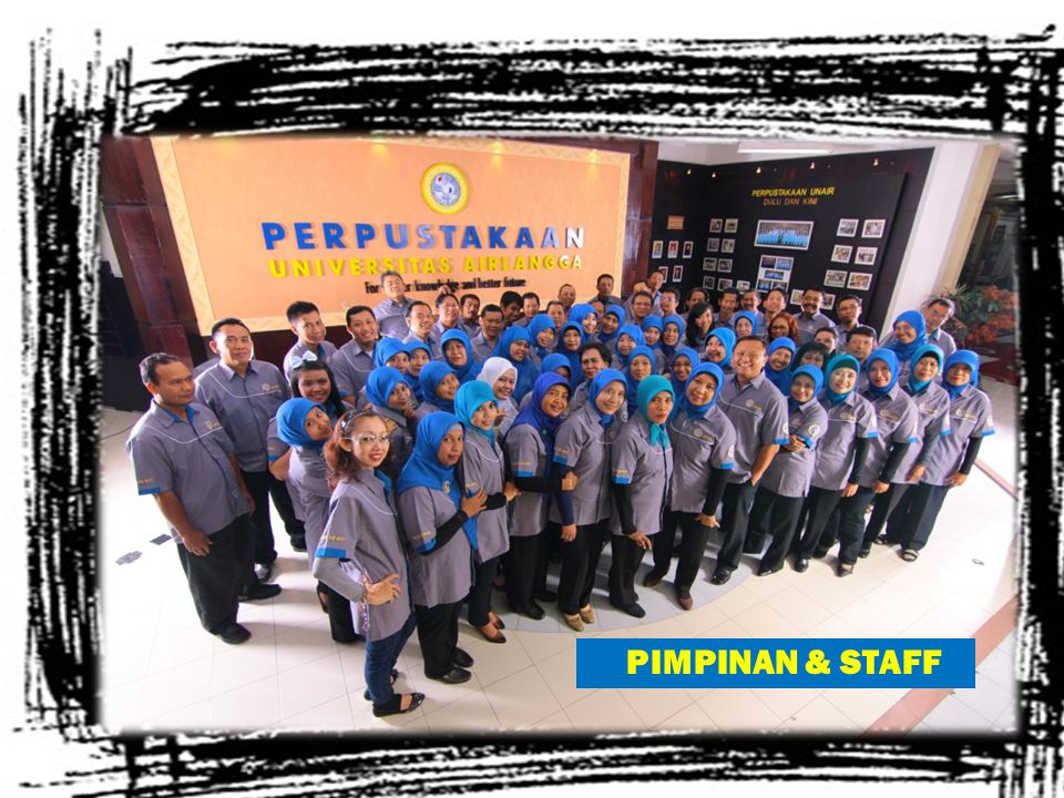 PIMPINAN & STAFF