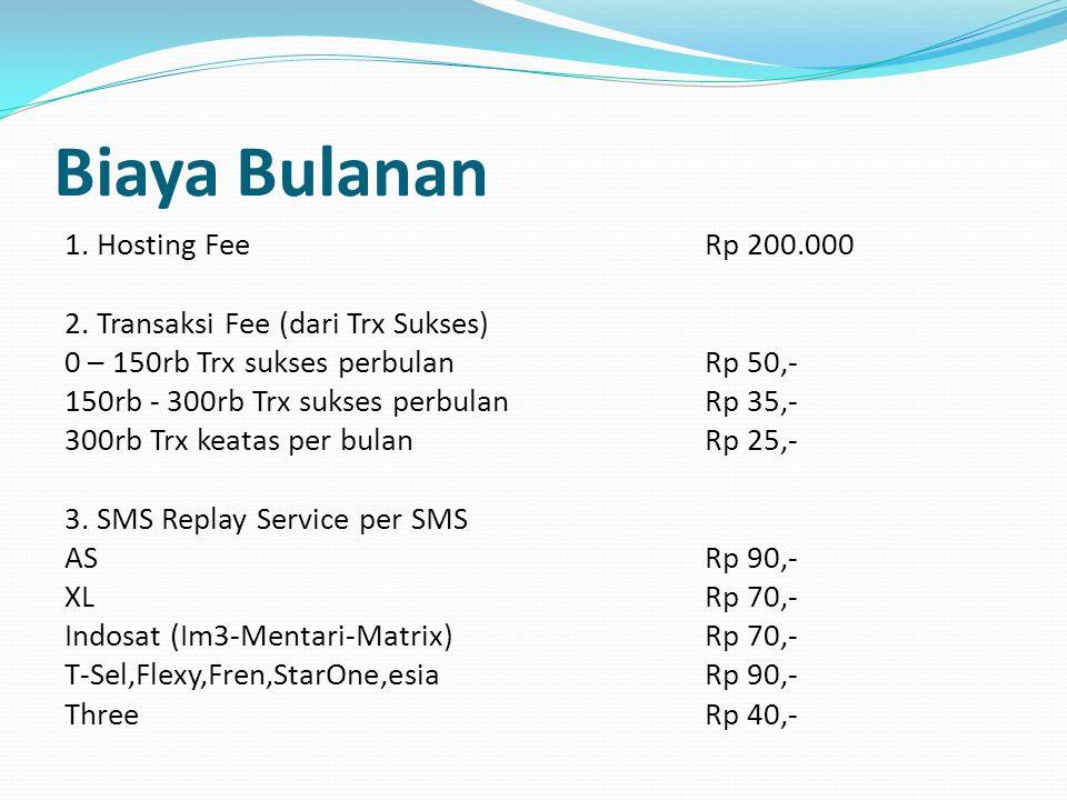 Biaya Bulanan
