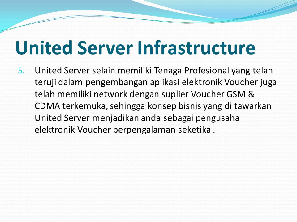 United Server Infrastructure