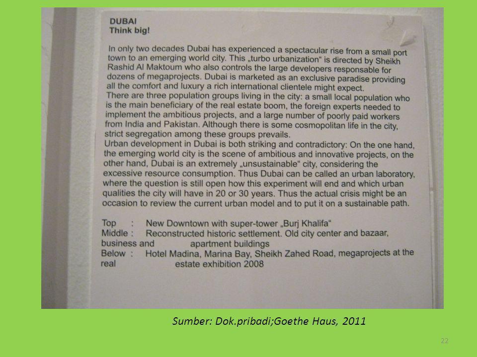 Sumber: Dok.pribadi;Goethe Haus, 2011