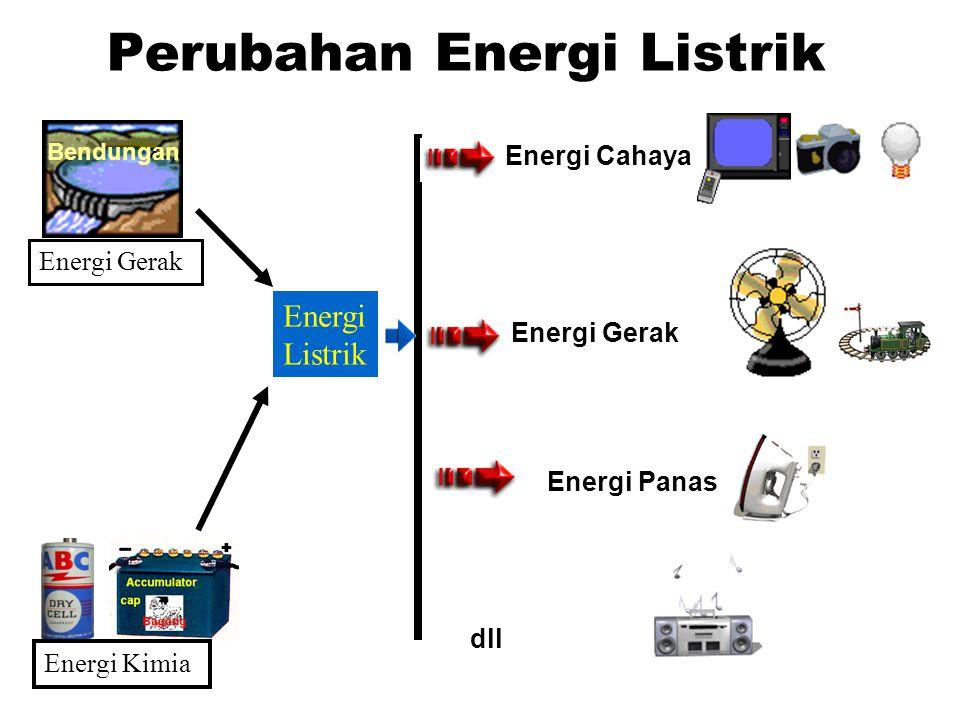 Perubahan Energi Listrik