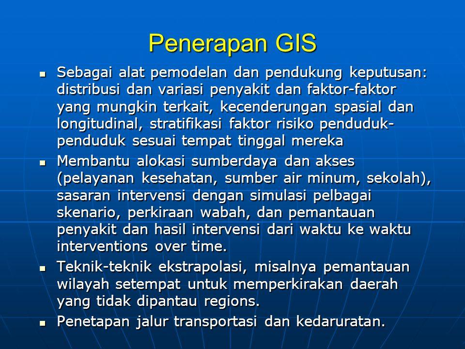Penerapan GIS