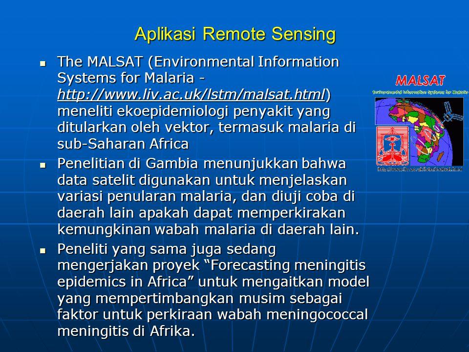 Aplikasi Remote Sensing